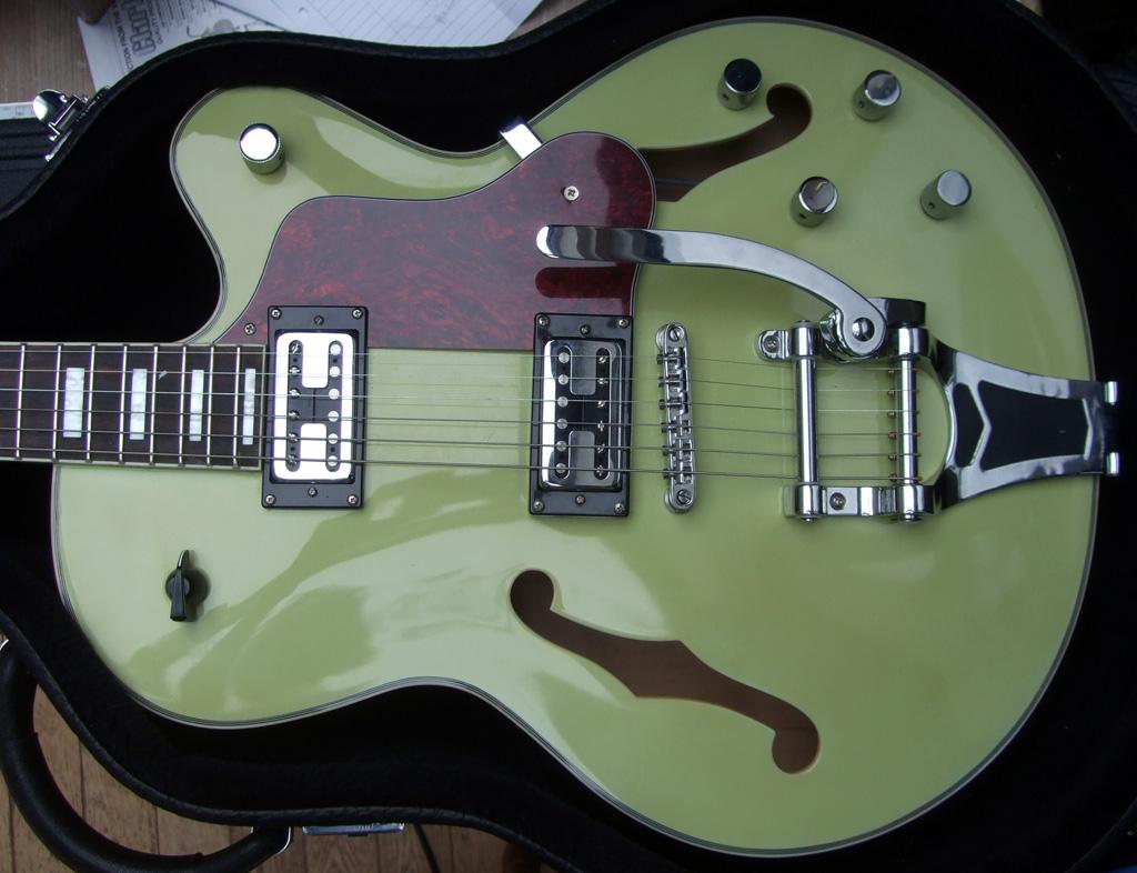 Skiffle Cat Jazz Guitar